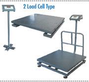Heavyduty platformscale